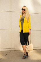 H&M blazer - Chanel bag