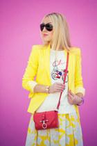 Zara blazer - Givenchy bag