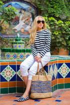 Zara top - vince pants