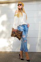 Zara jeans - Christian Louboutin pumps
