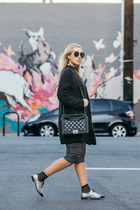 H&M dress - Chanel bag