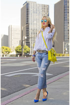 31 Phillip Lim bag - Zara jeans - ray-ban sunglasses