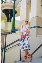 Zara skirt - alaia t-shirt