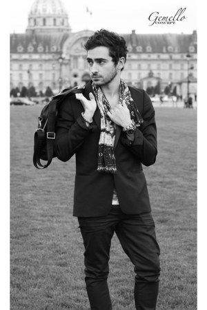 The Kooples jeans - The Kooples jacket - Ralph Lauren scarf