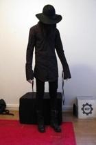vintage70s hat - Obscur shirt - Seppl gloves - aaleggings pants - neonsens boots