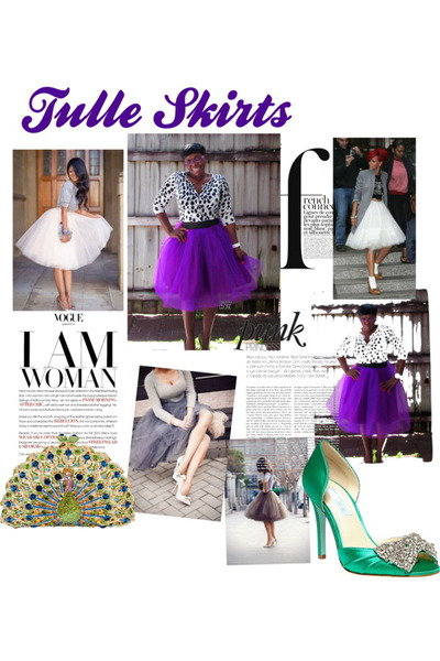tulle skirt Birgy Designs skirt