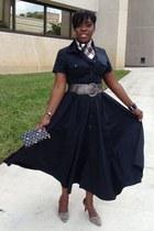 black Worthington dress