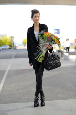 black Alexander Wang boots