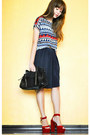 Apt-9-bag-anne-klein-skirt-soul-lifestyle-belt-ziya-blouse