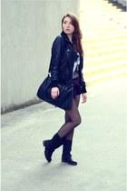 reserved t-shirt - Takko fashion jacket - Stradivarius shirt - reserved bag