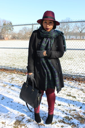Stylesforless hat - Charlotte Russe scarf - H&M bag - Forever 21 gloves