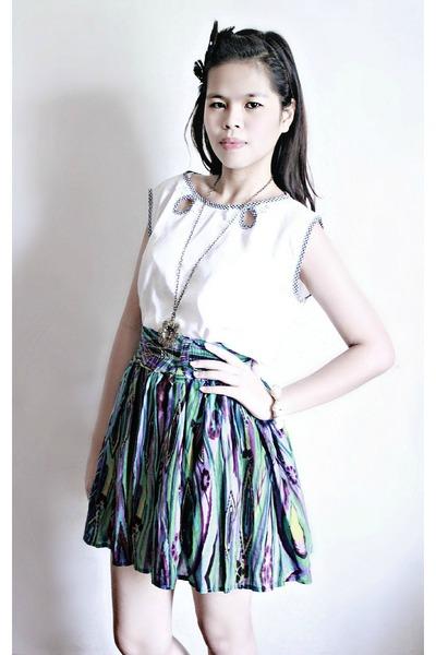 Esprit top - Multicolored skirt skirt