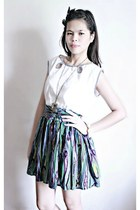 Esprit top - Multicolored skirt skirt