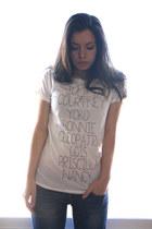 Fornarina jeans - Pull & Bear t-shirt