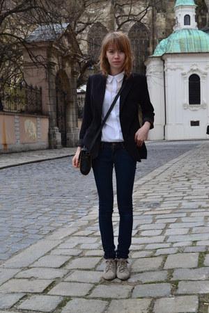 H&M shirt - Trift Store blazer