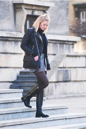 American Eagle jacket - Stradivarius bag - DIY skirt