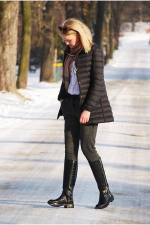 Zara shoes - Mango coat - Zara jumper