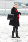 Second-hand-coat-second-hand-scarf-leather-fur-parfois-bag