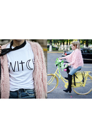 bubble gum fur Sheinside coat