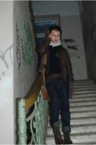 aeronautica militare boots - Levis jeans - HACKETT London jacket
