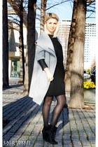 Zara coat - Zara boots - Zara blouse