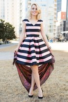Wear Pink and stripes for Valentine's