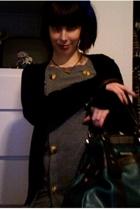 Fly Channel dress - BDG sweater - Matt & Nat purse