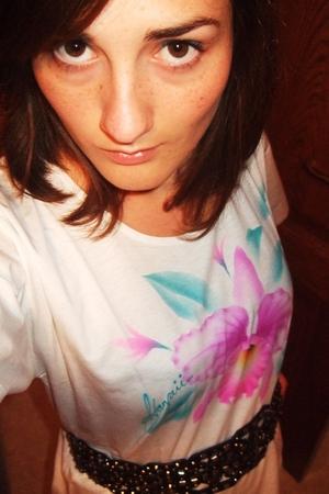 shirt - Zara belt