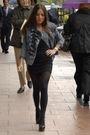 Black-h-m-dress-black-aldo-shoes-black-h-m-tights-blue-forever-21-jacket