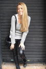 Black-american-apparel-leggings-black-thomas-burberry-boots-black-vintage-pu