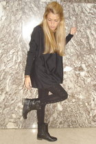 H&M sweater - Zara boots - H&M leggings