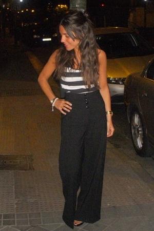 Mango pants - Zara t-shirt - Zara shoes