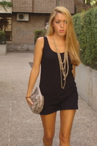 Zara dress - H&M purse - H&M necklace