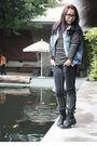 Blue-vest-black-jeans-boots