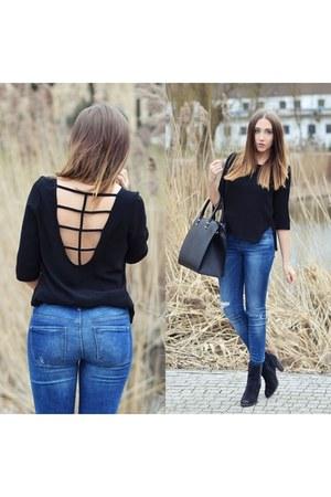 black Lanvi blouse
