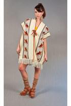 70s poncho vintage vest