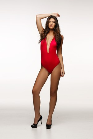red Peixoto swimwear