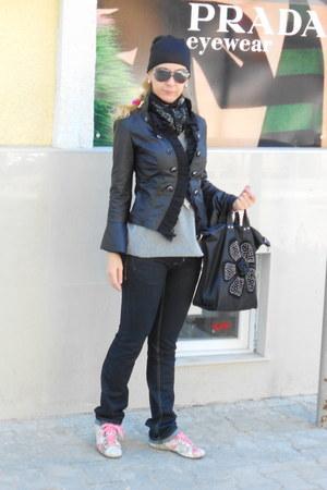 bubble gum romantic KOWALSKI HAND MADE SHOES shoes - denim trf Zara jeans