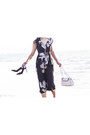 Black-dries-van-noten-dress-ivory-chanel-bag