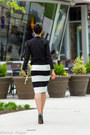 Black-tuxedo-wool-helmut-lang-blazer-black-chanel-bag-black-alaia-heels