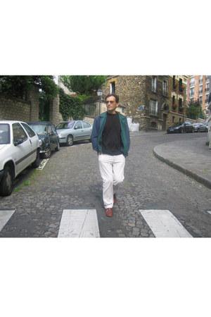 shoes - jacket - shirt - pants - glasses