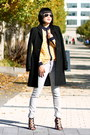 Black-wool-jcrew-coat-gray-gap-jeans-aviator-ray-ban-sunglasses