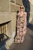 bubble gum lindex dress