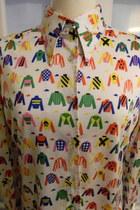 vintage lanvin shirt