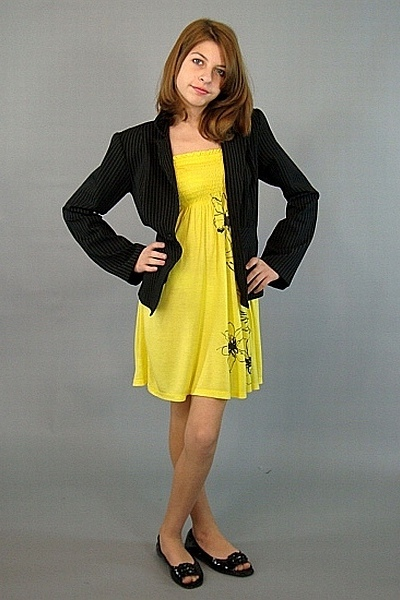 black as list blazers yellow papaya dresses black