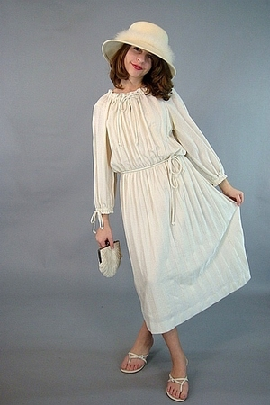 beige Vintage from pinkhillvitage dress