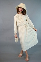 beige Vintage from pinkhillvitage dress