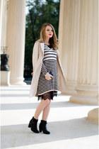 beige Lovelywholesale jacket - black H&M sweater