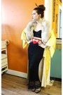 Tan-fur-vintage-scarf-gold-atomic-warehouse-jacket