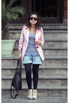 boheme blazer - asos shoes